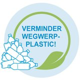 Verminder wegwerpplastic