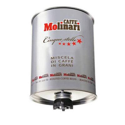 Caffe Molinari Cinque stelle silver tin