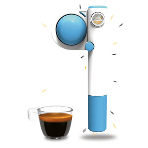Quick Mill Handespresso Pump Pop Blauw